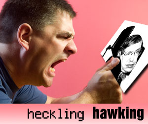 heckling hawking by Scott Meadow