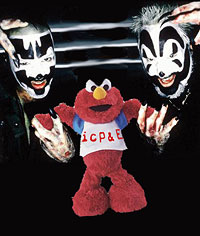 ICP and Elmo!