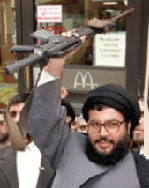 A moderate Hezbollah faction unveiled their new downtown Beirut McDonalds at a sparsely attended press conference Friday.