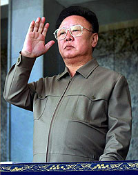 "Glorious leader Kim Jong-il today announced we will totally ""p0wn the n00bs."""