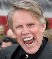 Actor and lunatic Gary Busey (shown here) penned this epic.