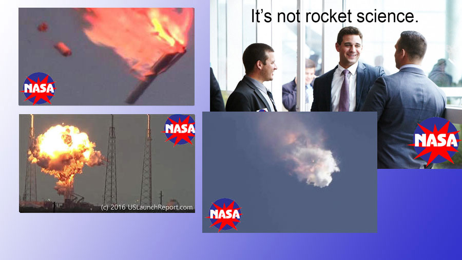 NASA Admits 'The Math Was Very Hard' Discussing Latest Satellite Explosion