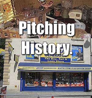 Pitching history.. out the window one show at a time